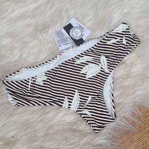 NWT O'Neill swim bikini bottoms Ren hipster XS